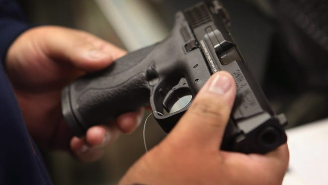 A woman has been indicted on a federal charge for allegedly falsely stating on a gun purchase transaction report that she had never been committed to a mental hospital.