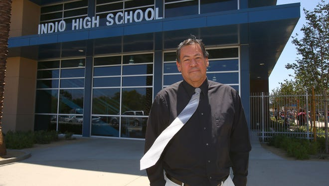 Rudy Ramirez is retiring from Indio High School after being the principal for the past 24 years.