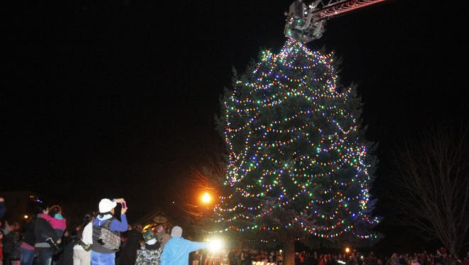 Riverfront Tree Lighting Ceremony: Enjoy music from the Grant Community School Choir, cookies and hot cocoa, a visit with Santa brought in by the Salem Fire Department to help light the holiday tree, 6:30 p.m., Friday, Dec. 1, Salem's Riverfront Park, 200 Water St. NE, Salem, free.