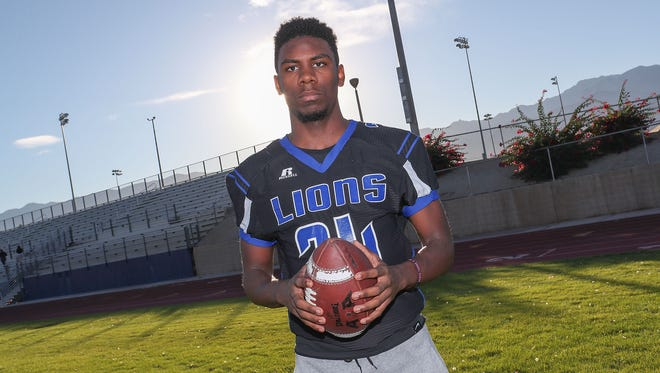 James Green of Cathedral City HIgh School.
