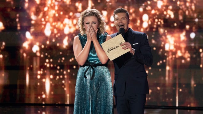 """Maddie Poppe is taking in her """"American Idol"""" win."""