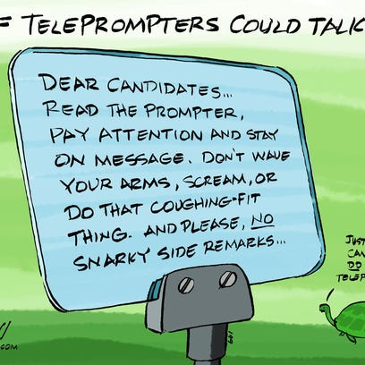 082216FlaT-election-teleprompters