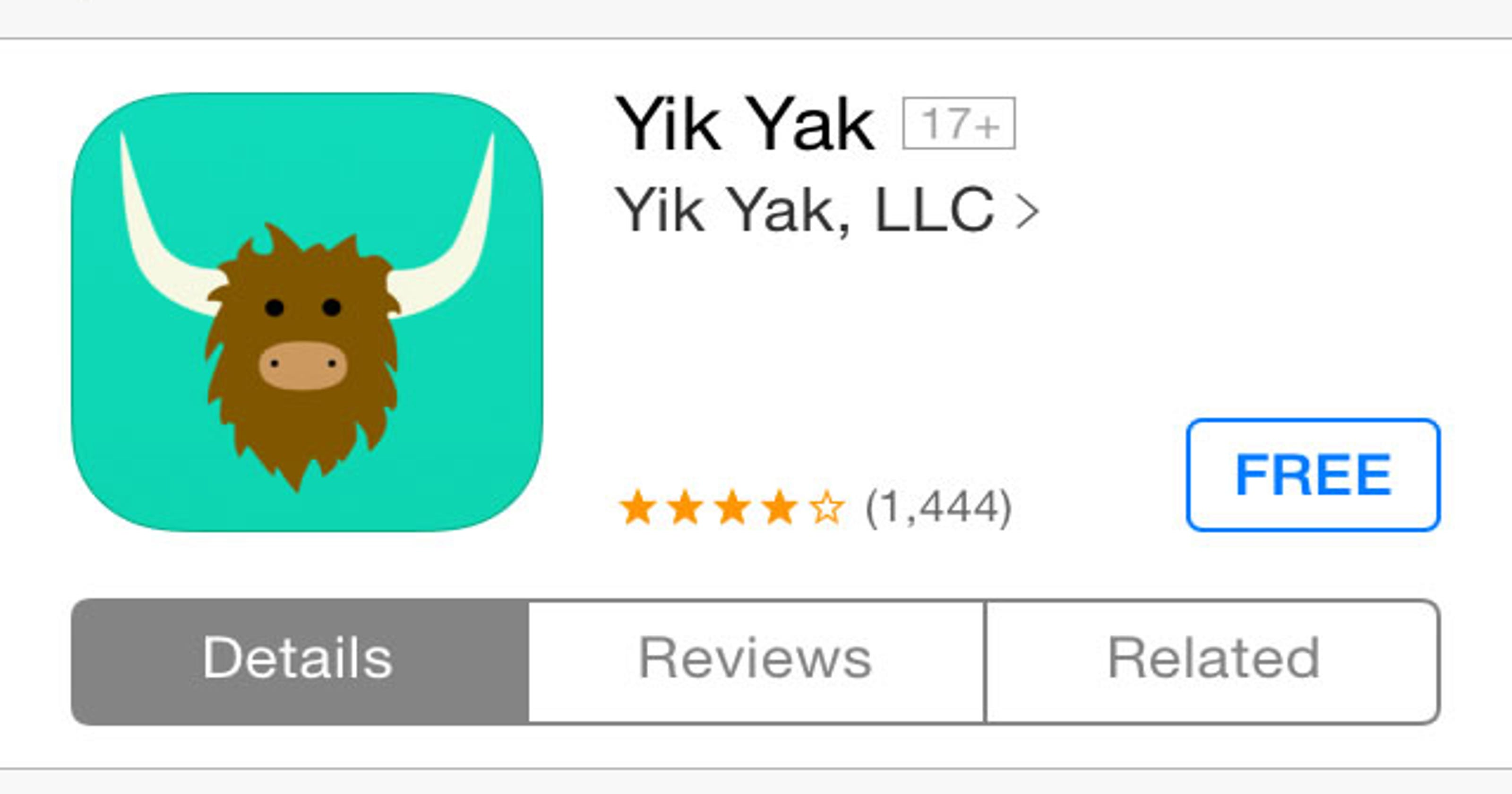 N Y  college seeks identities of Yik Yak users