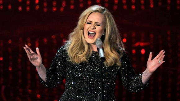 Do we think Adele follows American politics or what.