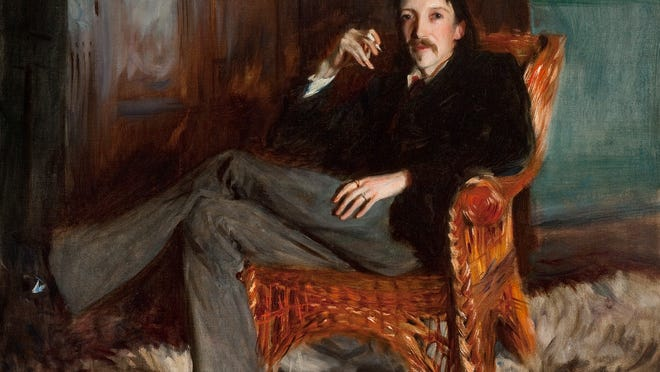 "The Taft Museum of Art's oil on canvas ""Robert Louis Stevenson"" (1887) by John Singer Sargent is on loan for a prestigious exhibition of portraits by Sargent that is traveling to London and New York."