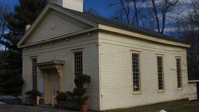 Built by a Methodist congregation in 1857, the building has been an antique shop for nearly 90 years.