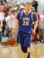 Trumansburg's Austin Grunder against Waverly in the