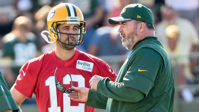 Packers QB Aaron Rodgers is entering his ninth season as the starter under coach Mike McCarthy.