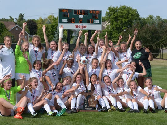 Novi captures Div. 1 state title with 1-0 victory of Grand Blanc June 15 at Williamston High School.