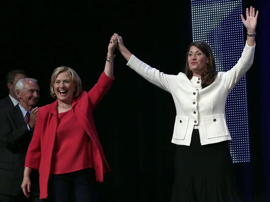 Hillary Clinton Campaigns With Alison Lundergan Grimes In Kentucky