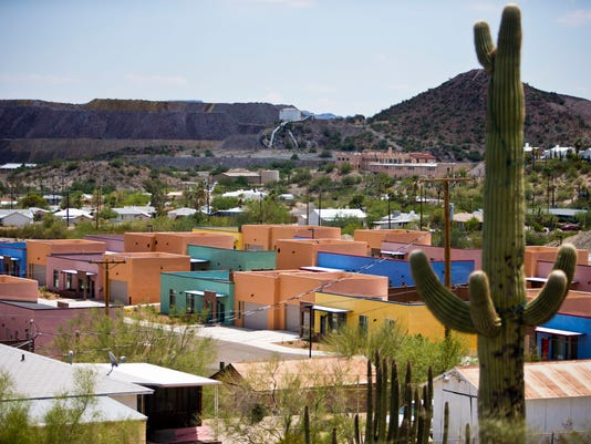 Ajo border patrol housing