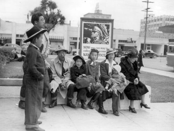 Japanese Internment, Salinas Armory, March 31, 1942