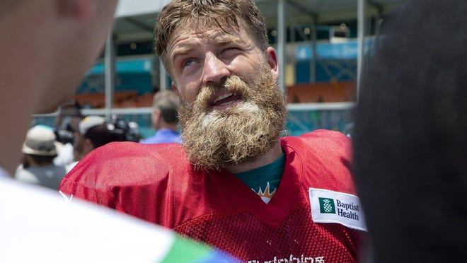 Miami Dolphins quarterback Ryan Fitzpatrick supports the proposed NFL collective bargaining agreement.