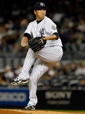 Pitcher Hiroki Kuroda is returning for a third season with the Yankees.