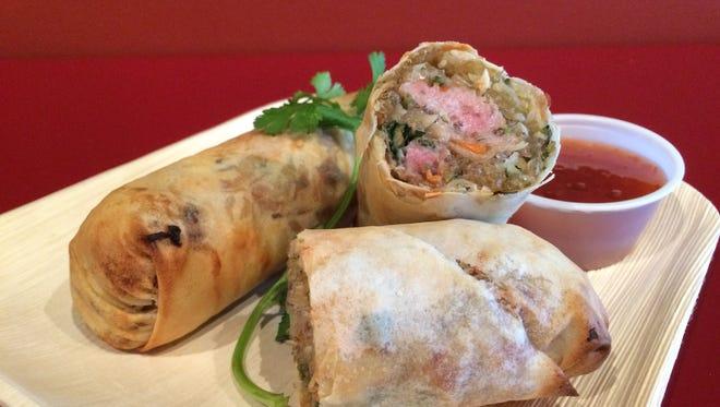 Pork egg rolls are the best seller at Eggrolls Inc. in Grand Chute.