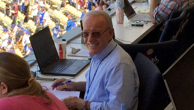 Camarillo's Jerry White, who is in the Ventura County Sports Hall of Fame, made the big leagues — works as an official scorer at Dodger Stadium.