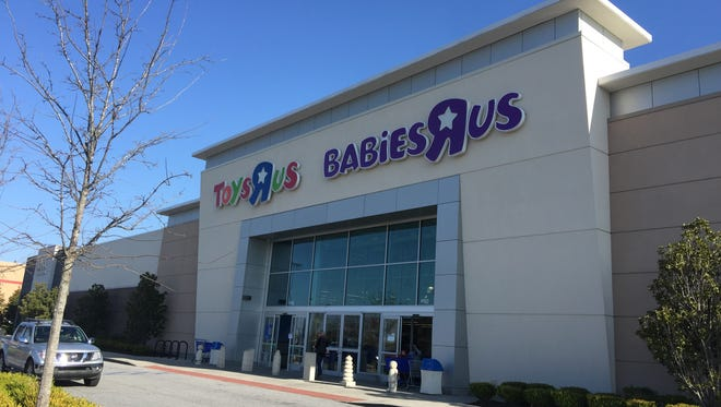 The Greenville Toys R Us store off Woodruff Road on Thursday, March 22, 2018, where a liquidation sale was cancelled.
