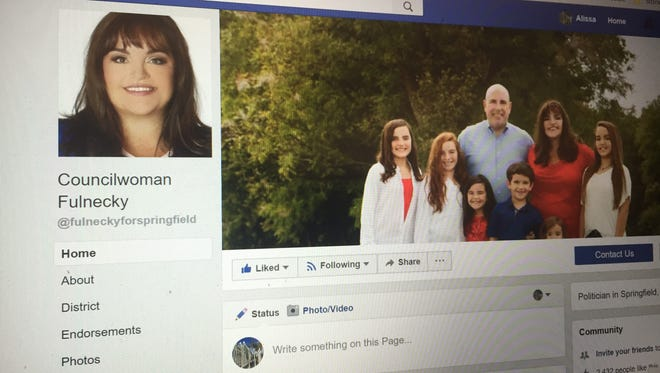 A photo of Councilwoman Kristi Fulnecky's Facebook page.