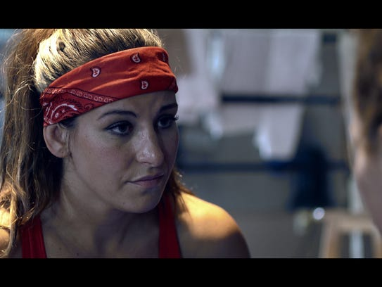 UFC competitor Miesha Tate plays Jabs, a respected