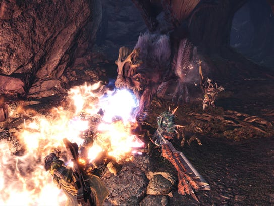 Monster Hunter World for PC, PS4 and Xbox One.
