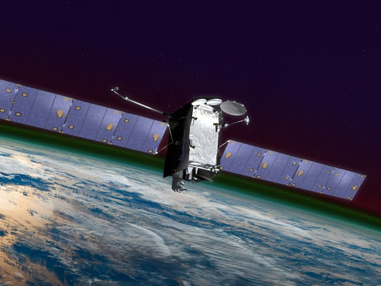 Artist rendering of the SES-14 satellite, the commercial