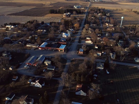 The town of New Providence, Iowa, is getting a boost
