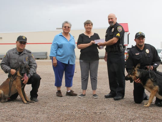 Twice Blessed Lions Club donation