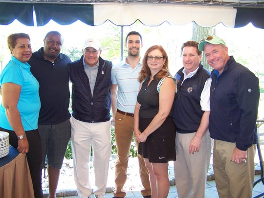 Attending the 2017 CAU Golf Classic were (from left)