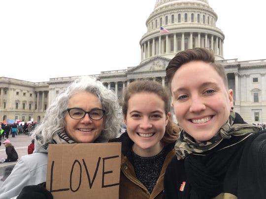 From left, Connie Sobczak, her daughter Carmen Sobczak,