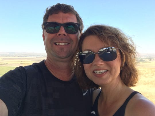 Kevin Harrison and his wife, Lynda, are on a mission to spend a night in each state. They recently visited Idaho.