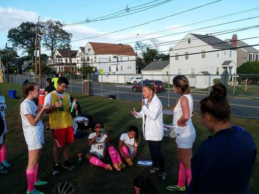 Belleville girls soccer