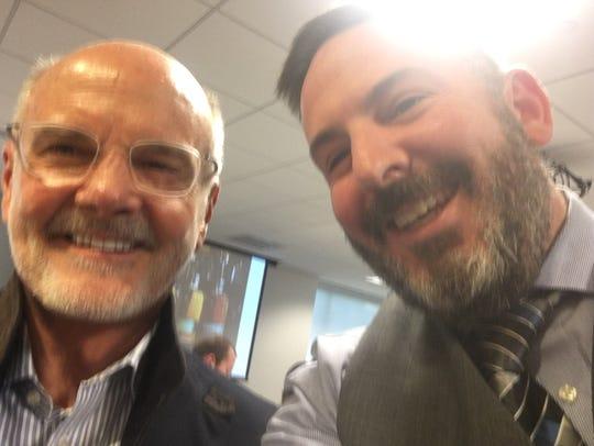 Tom Bulleit (left) and Michael Politz.