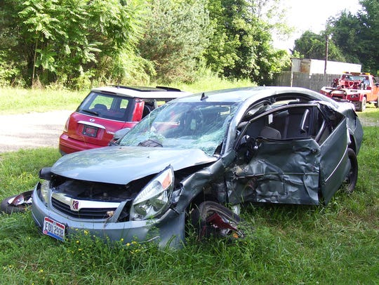 Aimee Ross was involved in a car crash on July 27,