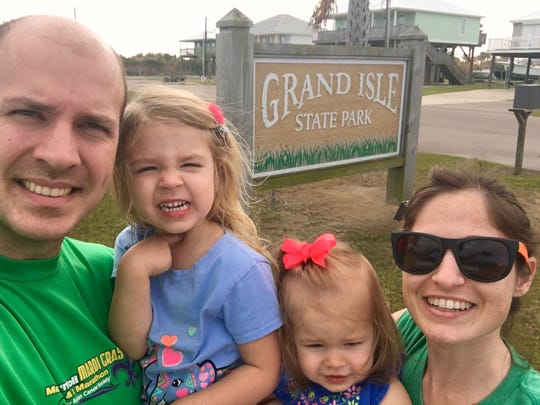Travel and tourism reporter Leigh Guidry and her family visit Grand Isle State Park, their 15th Louisiana state park to see as a family since November. Follow their journey on Instagram (@thedailyadvertiser) and theadvertiser.com.