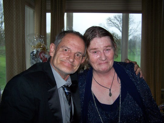 Rosemary Veale and James Emon.