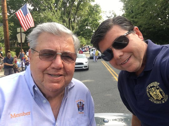Senator Anthony R. Bucco and his son, Assemblyman Anthony