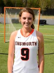 Ensworth junior attack Caroline Frist