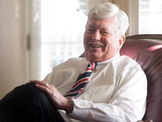 Sen. Randy McNally is the next Senate speaker and lieutenant