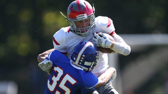 Pearl River defeats Tappan Zee 21-14 to claim the Orange