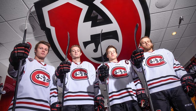 The St. Cloud State hockey team will feature one of the stronger defensive lineups in history, anchored by Jack Ahcan, Will Borgen, Jimmy Schuldt and Jon Lizotte.