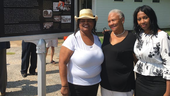 Several of Emmett Till's relatives were among those