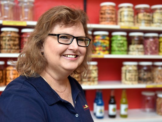 Popcorn Place owner Kelly Amos