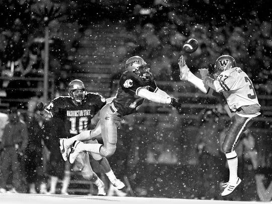 Eric Canton was a quarterback and defensive back at South Kitsap, but he was a punter at Washington.
