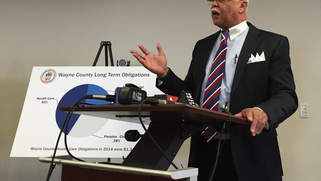 Wayne County Executive Warren Evans has submitted a budget.