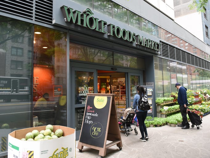 The Whole Foods Market in Midtown New York is seen