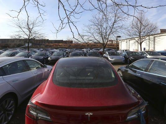 Tesla Sales