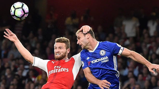 Arsenal and Chelsea split their games this season, with Arsenal winning 3-0 in September and Chelsea winning 3-1 in February.