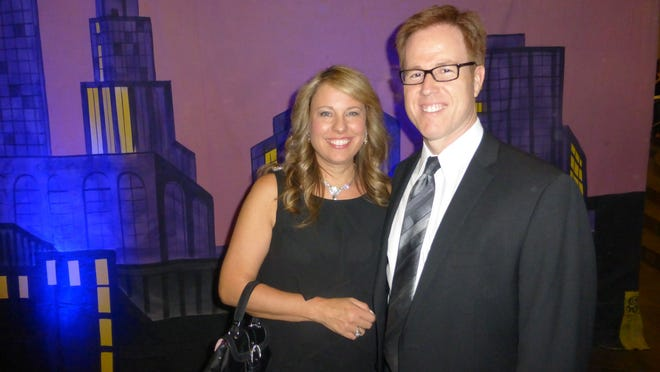 Attending Variety, The Children's Charity's Star is Born black-tie gala are Michele and Variety board member Nathan Mersereau of Livonia.
