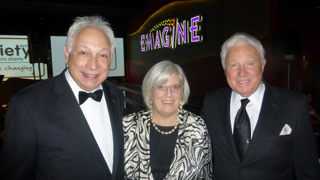 Michigan Celebrity Hall of Fame 2015 Inductees News-Talk 760 WJR's Paul W. Smith of Bloomfield Hills and Crain's Detroit Business Vice President and Group Publisher Mary Kramer of Detroit; along with Variety Vice President Henry Baskin of Bloomfield Hills and the Baskin Foundation.