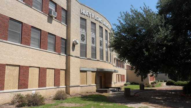 Huey P. Long Medical Center in Pineville, which closed June 30, 2014, is boarded up, but officials hope its new designation on the National Register of Historic Places will lead to it being repurposed.